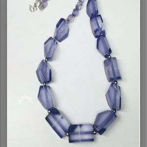 New Diana Broussard Facets Resin Necklace
